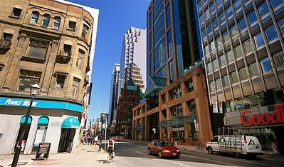 Yonge Street, Toronto. Ontario, Canada.