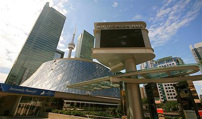 Roy Thomson Hall Toronto. Ontario, Canada.