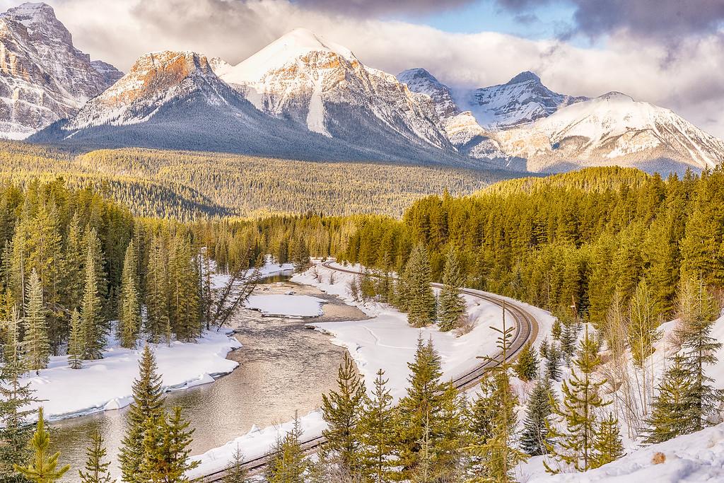 Morant's Bend in Banff National Park