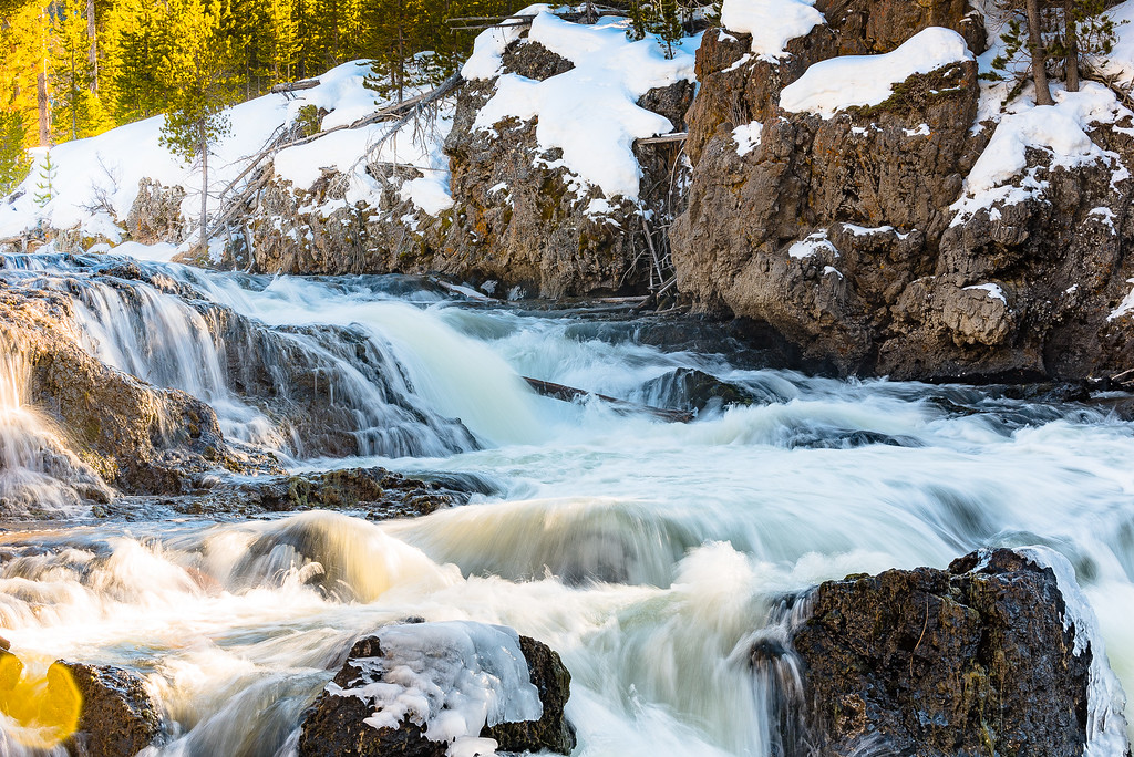 Firehole River Falls