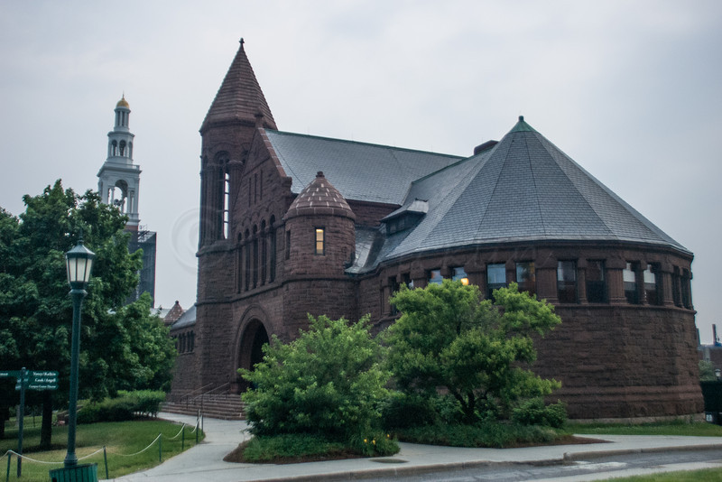 The old Student Union Building, UVM