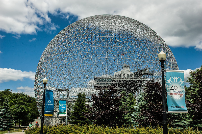 The Biosphere at Montreal Expo 1967 site. I went in '67 while at UVM.