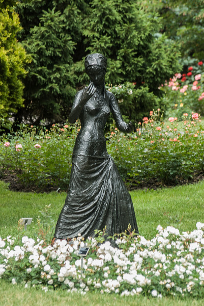 Garden Statue, Montreal Botanical Gardens.