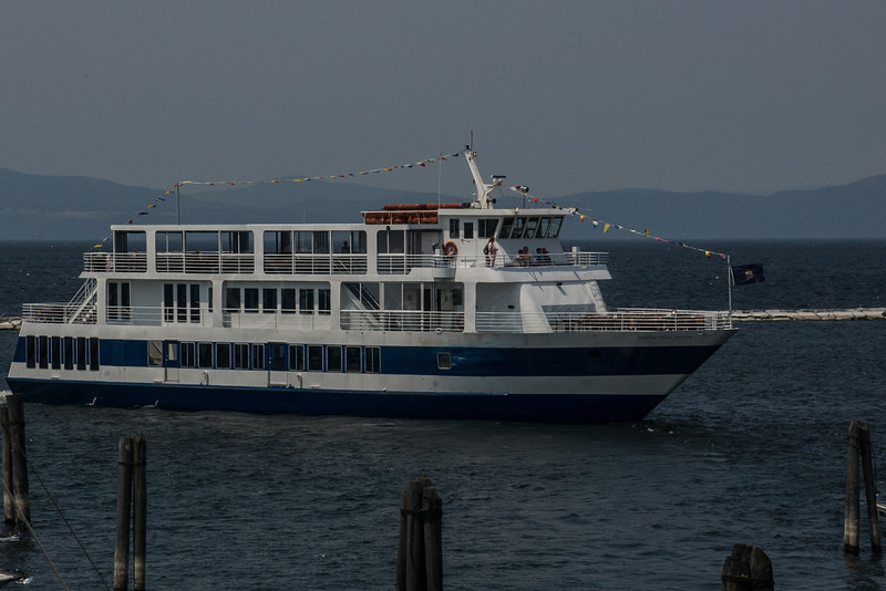 Excusion boat, Lake Champlain.