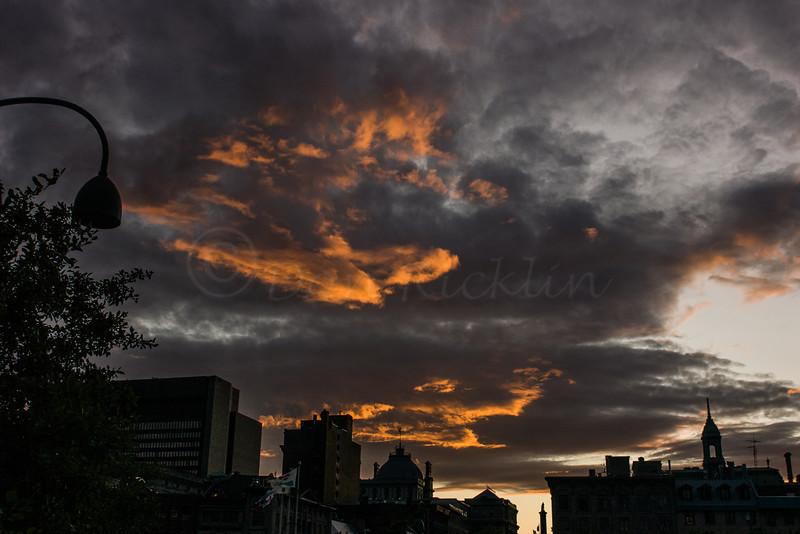 Sunset, Montreal, Quebec, Canada