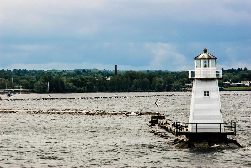 Breakwater Lighthouse Burlington, VT, from a ferry.