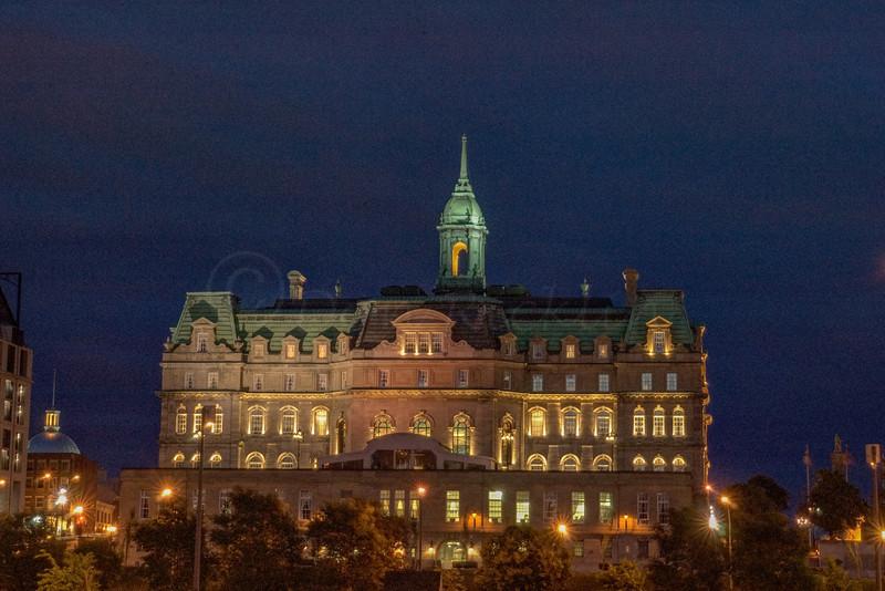 Montreal City Hall Palace.