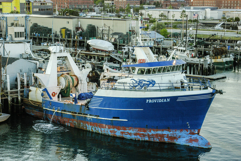 Trawler fishing boat, Portland, ME