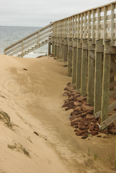 Beach Walkway access, Prince Edward Island NP