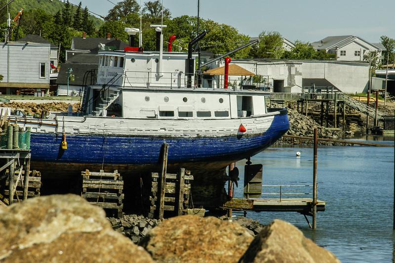 Old fishing boat, Yarmouth, NS