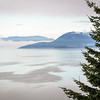 Puget Sound from Chuckanut Drive, Washington
