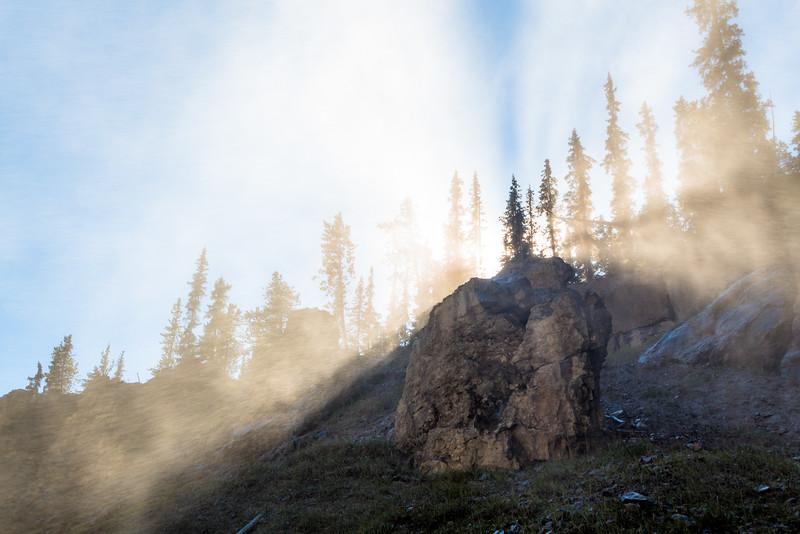 Near Panther Falls, Banff National Park, Alberta