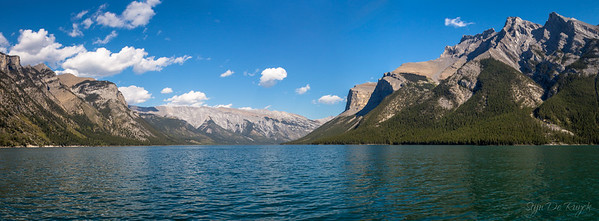 Lake Minnewanka, Banff National Park, Alberta