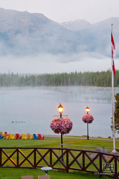 Beauvert Lake by the Fairmont Jasper Park Lodge