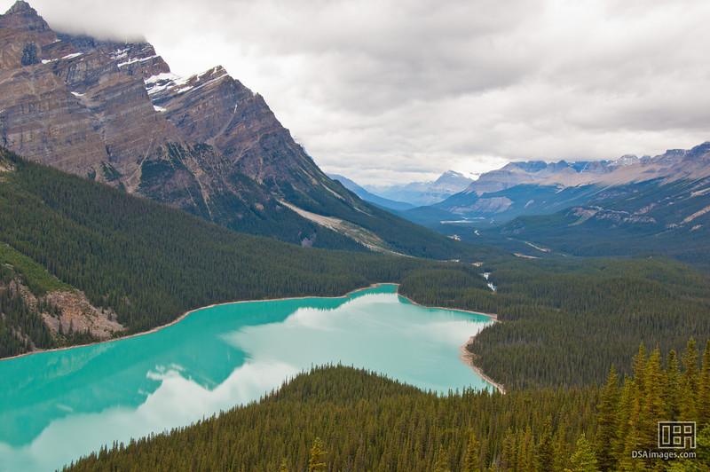 Peyto Lake, in Banff National Park