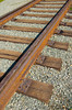 Rail line near the last spike that connected the Canadian Pacific Railway