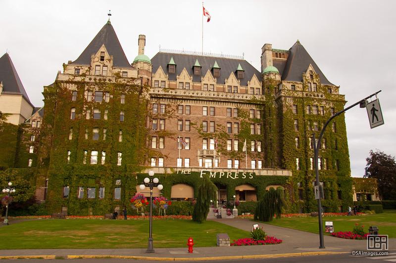 Fairmont Empress hotel, Victoria