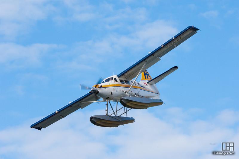Floatplane near Victoria