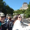 Michelene and Kiera, on Quebec hop on-hop off bus tour