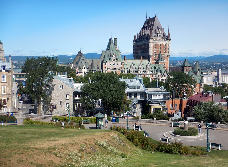 One of the best viewing spots for Frontenac Castle