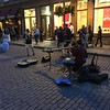 street performer on rue Saint-Jean