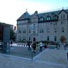 Michelene, Bill and Kiera, at the Hotel de Ville