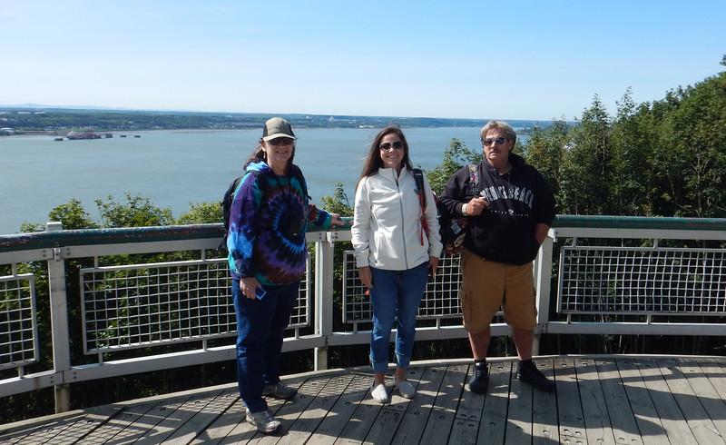 Michelene, Kiera and Bill