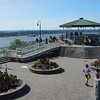 Overlook pavillion at the St. Lawrence Seaway, next to the Plains of Abraham