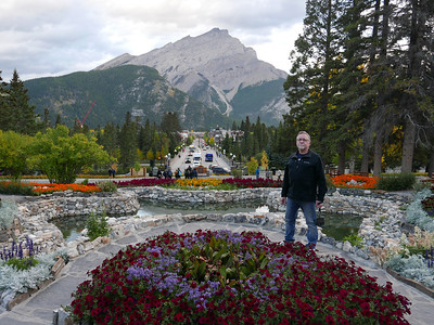 Banff Avenue, the Mountain & Me