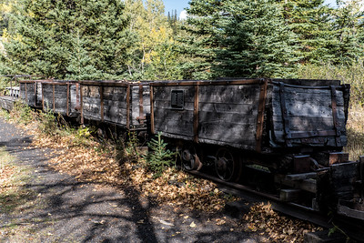 Dormant Coal Cars