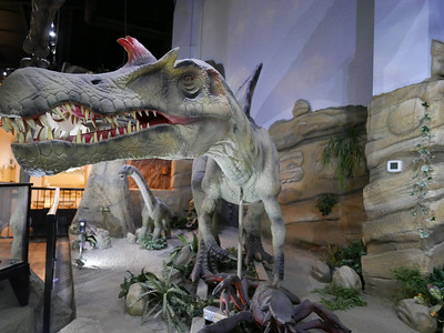 Animatronic Dinosaurs at Fossil World