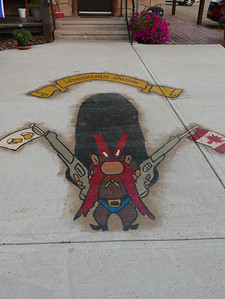 Yosemite Sam welcomes you to The Longbranch Saloon