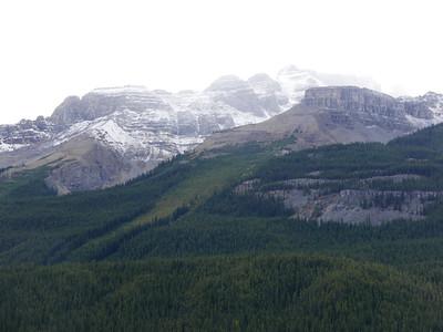 Mountains beside Coleman Creek