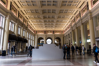 Inside the Pacific Central Station