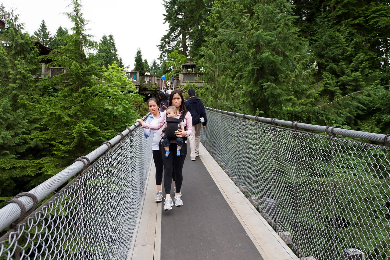 Capilano Suspension Bridge<br /> Vancouver, British Columbia, Canada, 2011
