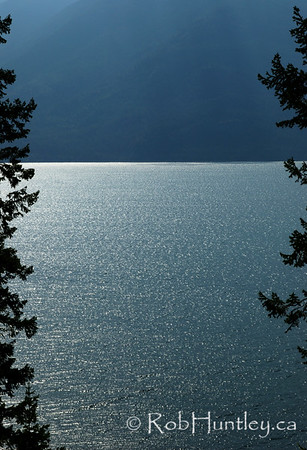 Kootenay Lake in British Columbia.