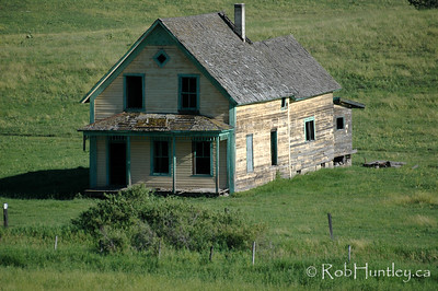 Abandoned homestead in southern British Columbia.