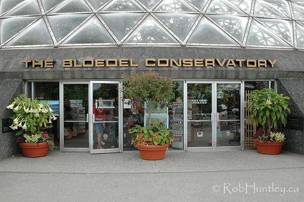 The Bloedel Floral Conservatory, Vancouver, British Columbia. © Rob Huntley