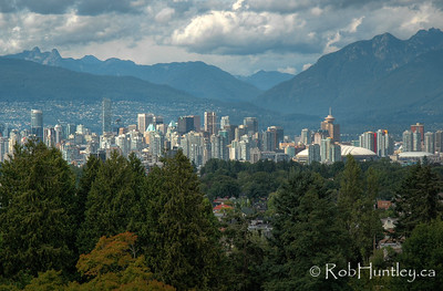 Distant view of Vancouver, British Columbia. © Rob Huntley