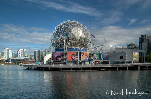 Telus World of Science, Vancouver, British Columbia. HDR. © Rob Huntley