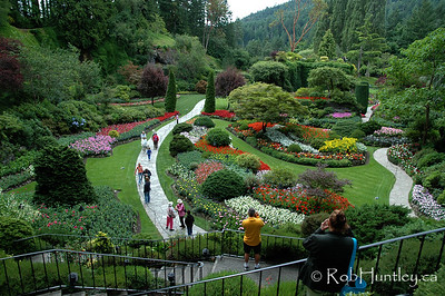 The Butchart Gardens, Victoria, British Columbia. © Rob Huntley