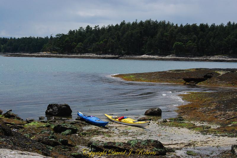 Kayaks Flat Top Islands Gabriola Is