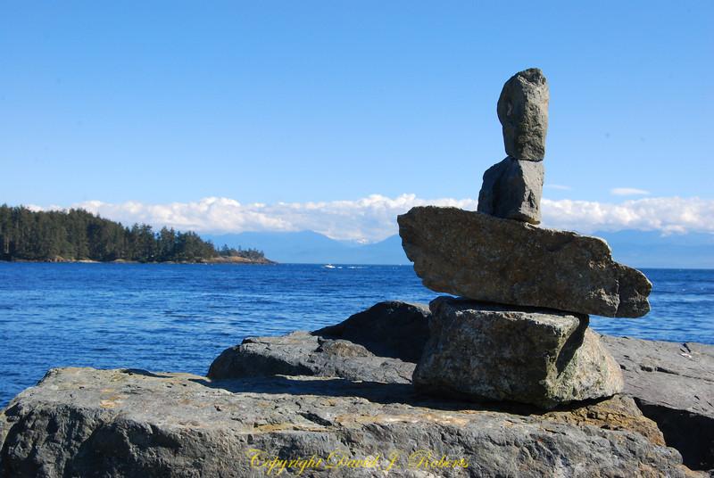 Allison's Stones, Sooke Bay BC