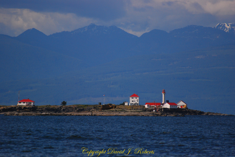 Entrance Island lighthouse near Gabriola Is
