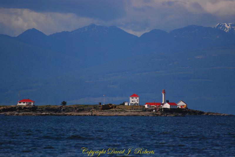 Entrance Island lighthouse near Gabriola Is
