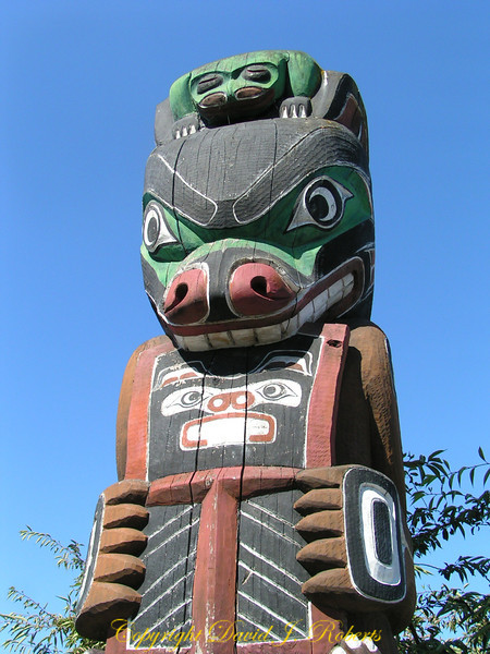 Totem Pole, Victoria, British Columbia