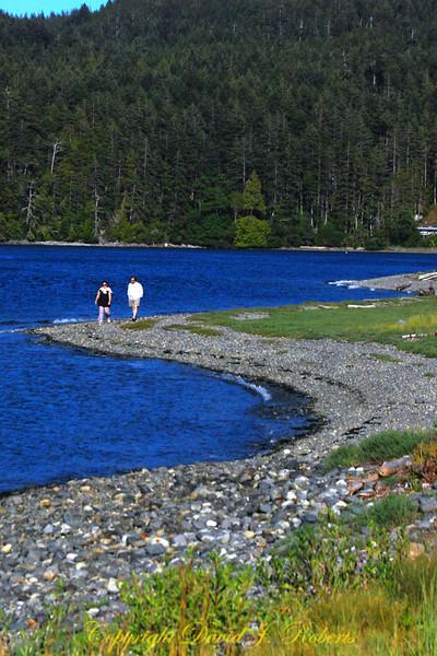 Spit near Sooke Bay BC