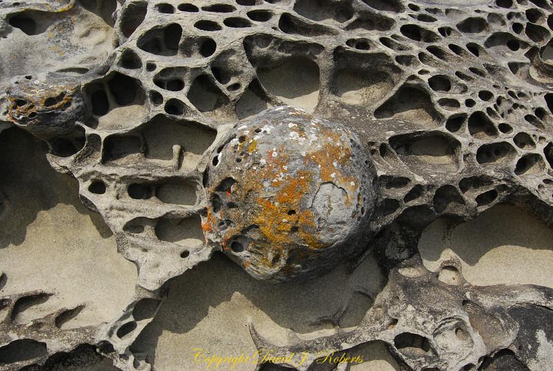 Sandstone formation Flat Top Islands Gabriola Is