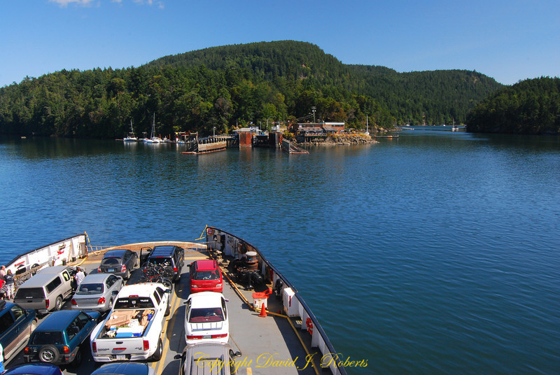 Saturna Is ferry terminal