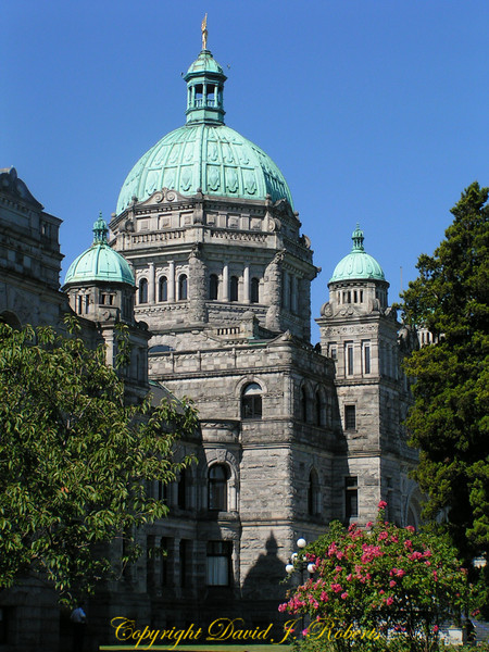 Parliament Buildings in Victoria, British Columbia